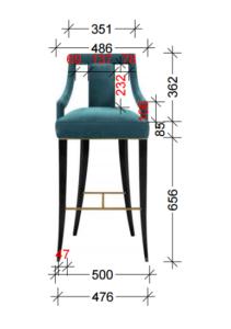 кресло для баров, кафе