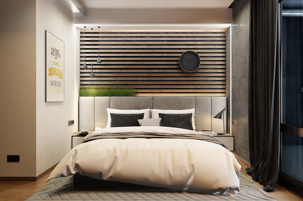Кровати в современном стиле для спальни