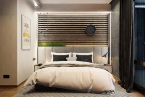 купить кроват в спальню в современном стиле лофт